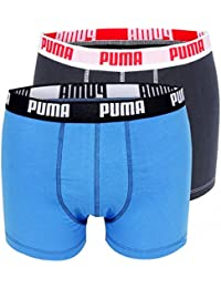 Puma Basic - Boxer - Uni - Lot de 2 - Homme