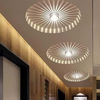 Modern Corridor Porch Lights Creative Ceiling Lights Flush
