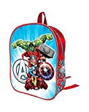 Los Vengadores AST2234 Mochila Juionr, Efecto 3D, 32 Centímetros, Captain America, Iron Man, Thor, Hulk