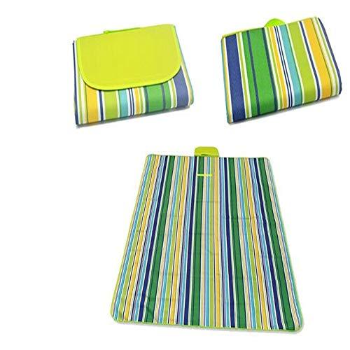 asserdichte Stranddecke Outdoor Tragbare Picknickmatte Campingplatz Matratze Outdoor Camping Picknickmatte Blanket145X180CM ()
