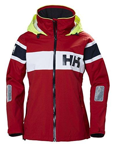 Helly Hansen Damen W Salt Jacket Trainingsjacke, Rot (Rojo 162), Large