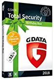 G DATA Total Security  Birthday Box  f�r 1 Windows-PC und 2 Android-Ger�te / 1 Jahr / Erstklassiger Rundumschutz durch Firewall & Antivirus / Trust in German Sicherheit medium image