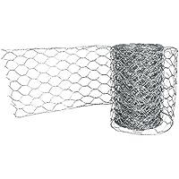 Rayher 2410721 Deko-Gitter, 21, 5cm, 1, 22M, Metall, Platin, 32 x 13 x 5 cm