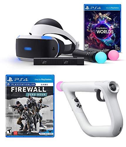 Playstation VR Launch Bundle 3 Teile: VR Launch Bundle, PSVR Aim Controller Farpoint Bundle, Mytrix HDMI-Kabel
