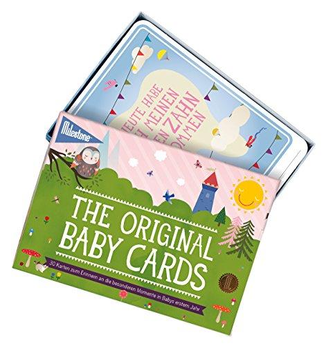 Milestone Baby Cards Erinnerungskarte - 2