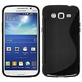 HCN Phone® Funda de gel de poliuretano termoplástico (TPU) para Samsung Galaxy Grand 2, diseño S-Line