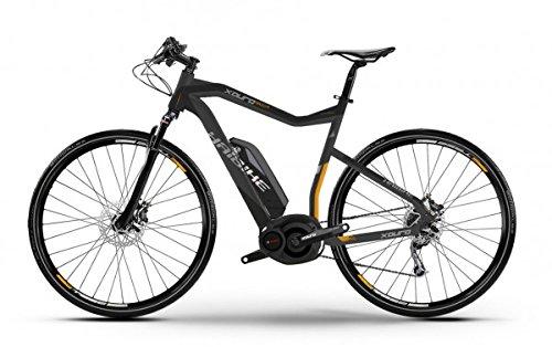E-Bike Haibike Xduro Cross RX 400Wh/36V 15 HB BPI 27G 28\' Herren in grau/schwarz/orange matt, Rahmenhöhe:52