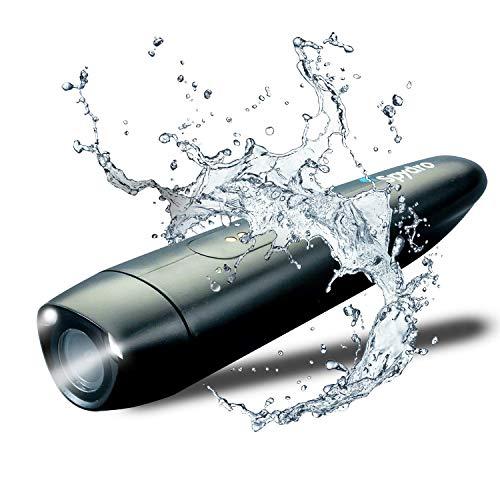 Spydro cámara pesca submarina aplicación teléfono