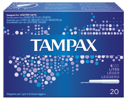Ancienne version - Tampax - Tampons Classiques avec Applicateur en Plastique x 20 - Léger