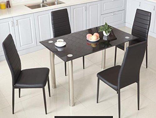 Sedie Schienale Alto Design : Furniturer set sedie da pranzo schienale alto dall elegante