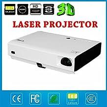 NIERBO Proyector 3D LED proyector láser HD 1080p mini proyector Android Bluetooth wifi proyector multimedia proyector de cine en casa