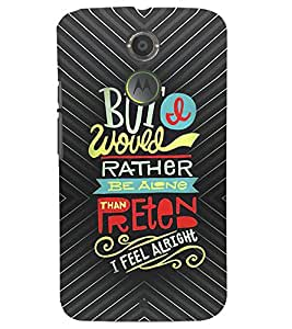 PRINTSHOPPII QUOTES Back Case Cover for Motorola Moto X2::Motorola Moto X (2nd Gen)