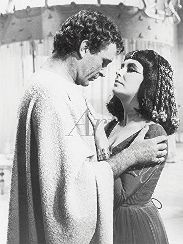 Artland Qualitätsbilder I Wandtattoo Wandsticker Wandaufkleber 30 x 40 cm Film TV Stars Foto Schwarz Weiß C2PG Cleopatra 1963 -