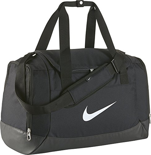 Nike Club Team Swoosh Duffel S Sport Duffel, 40 cm, 43 liters, Black (Schwarz)
