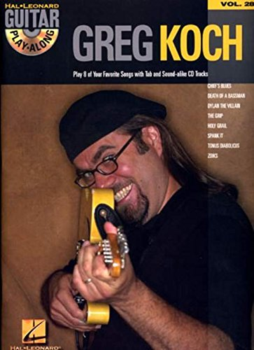 Greg Koch: Guitar Play-Along Volume 28