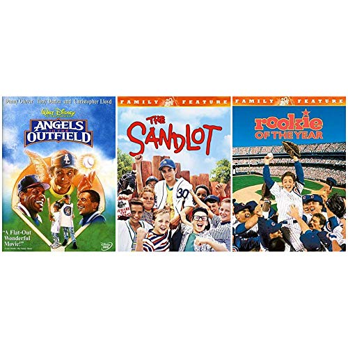 Classic Baseball Movie Collection: 3 Films (Angels in the Outfield / The Sandlot / Rookie of the Year)
