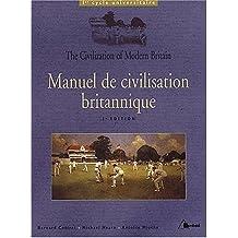 Manuel de civilisation britannique : 1er cycle universitaire
