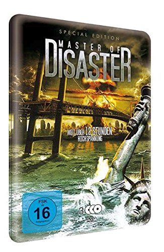 Master of Disaster S.E.-Metallbox (3 DVDs mit 9 Filmen) [Special Edition]