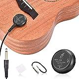 OTraki Acoustic Guitar Pickup Stable Contact Microphone Transducer Self Adhesive Volume Control Piezo