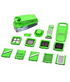#10: National Chipser 14 in 1 Blades, Green Colour, Plastic, 1 Set