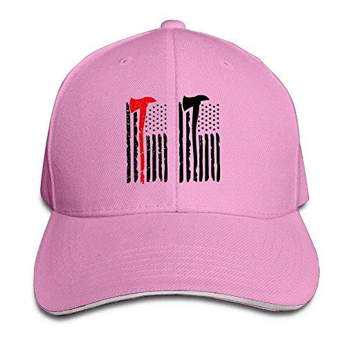 Basecap Hip-Hop Cap Kappe Unisex Snapback Firefighter Firefighting Flag Baseball Caps Vintage Designs Fitted Hats for Men -