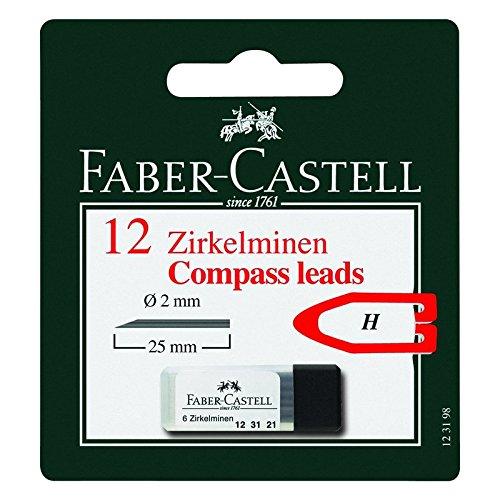 Faber-Castell Zirkelmine, 2mm, 12 Stück