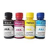 ouguan 4x 100ml Farbe Sublimation Tinte Gel für RICOH G2100N SG3100SNW SG3110DN SG3110DNw SG3110SFNW sg7100