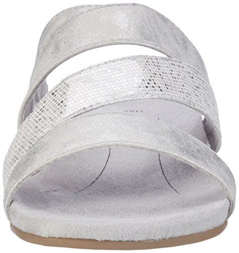 Softline 27161, Mules Femme Blanc (White/silver 191)