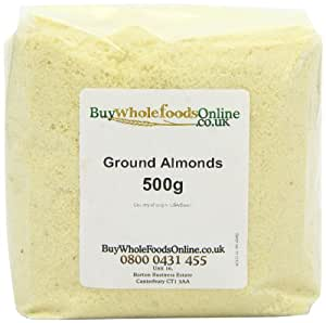 Buy Whole Foods Ground Almonds 500 g