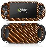 Sony PS Vita Case Skin Sticker aus Vinyl-Folie Aufkleber Dachziegel Ziegel Look Muster