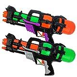 Pistolas de Agua de Juguete Para Niños Chshe Big Super Shoot Soaker Squirt Games Water Toy Pump Action Pistola de Agua, Verano Juguetes Al Aire Libre Playa