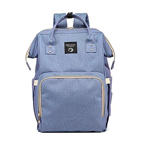 MLF-Sac à langer bébé Langer sac à bandoulière double élégante