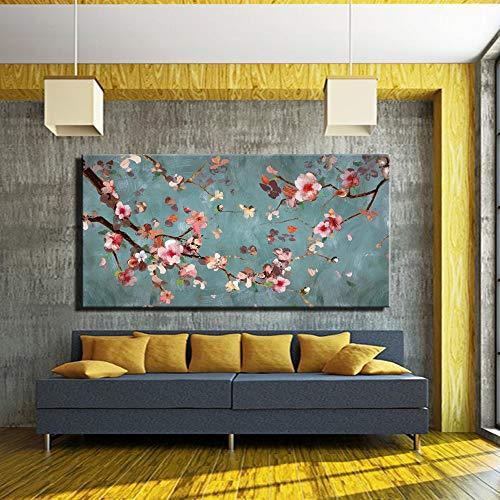 Kunst Design abstrakte Leinwand Wandmalerei große abstrakte Farblinie Pop-Art Poster für Wohnzimmer Wanddekoration (kein Rahmen) A3 35x70CM