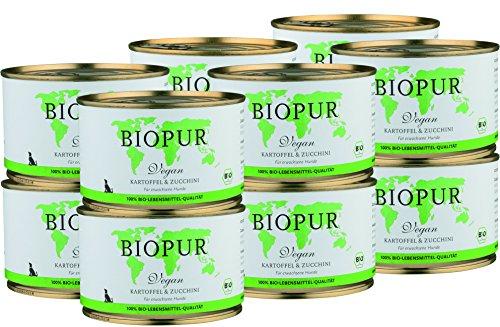 BIOPUR-Bio-Vegan-Kartoffel-Zucchini-fr-Hunde-12x400g