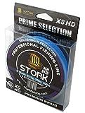 Stork HDx8, 8-Fach geflochtene premium Angelschnur 300m (Blau, 40 lbs / 18.1 kg / 0.28 mm)