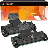 2 Premium Toner kompatibel für Samsung ML-1610, ML-1615, ML-1650, ML-2010, ML-2010P, ML-2010R, ML-2015, ML-2510, ML-2570, ML-2571, ML-2571N, SCX-4321, SCX-4321F, SCX-4521, SCX-4521F