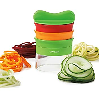 yoofit 3 lames spirale main set spaghettis courgettes. Black Bedroom Furniture Sets. Home Design Ideas