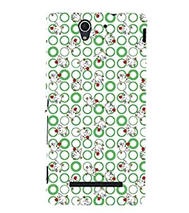 Duck pattern Back Case Cover for Sony Xperia C3 Dual D2502::Sony Xperia C3 D2533