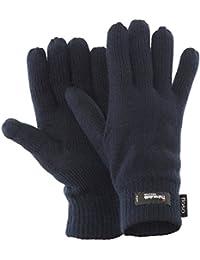 FLOSO - Gants d'hiver thermiques Thinsulate (3M 40g) - Homme