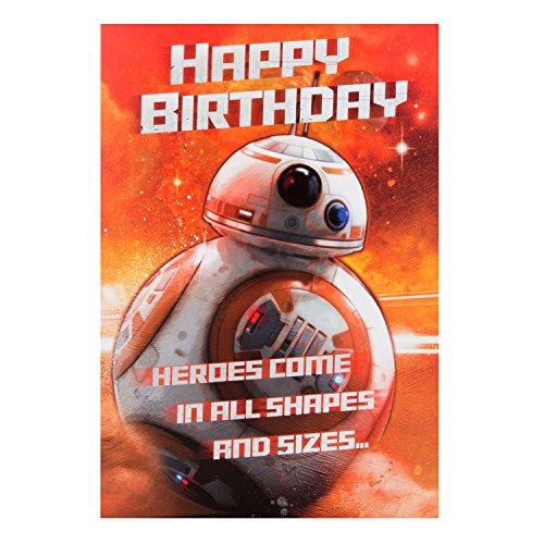 Auguri Matrimonio Star Wars : Hallmark biglietto di auguri compleanno a motivo bb