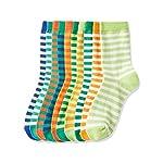 Amazon Brand - RED WAGON Boys Striped Calf Socks
