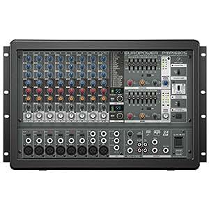 Behringer Europower PMP1680S Table de mixage amplifiée 10 canaux 1600 W