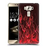 Head Case Designs Wut Rot Hot Rod Flamme Ruckseite Hülle für Zenfone 3 Deluxe 5.5 ZS550KL