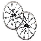 Vuelta 26 Zoll Laufradsatz Crosser x II Shimano HB/FH-RM40 weiß schwarz 24