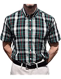 Warrior Green & Black Check Shirt Sizes Med-4XL Available