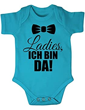 Mikalino Babybody Ladies, Ich Bin da! Kurzarm