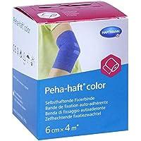 Peha-haft Color Fixierbinde latexf.6 cmx4 m blau 1 stk preisvergleich bei billige-tabletten.eu