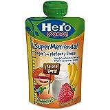 Hero Bolsita Merienda Yogur Plátano Fresa - 100 g