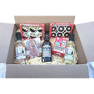 dog christmas hamper wines beer gingerbread man mince pies xmas puds & chocolate orange treats DOG CHRISTMAS HAMPER WINES BEER GINGERBREAD MAN MINCE PIES XMAS PUDS & CHOCOLATE ORANGE TREATS 51z8 AtF7YL