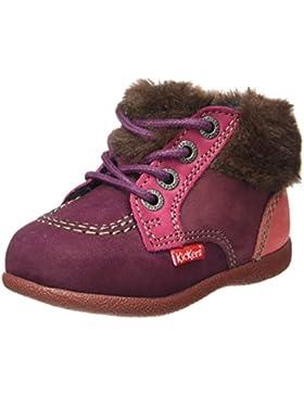 Kickers Babyfrost - Zapatos de Primeros Pasos Bebé-Niñas